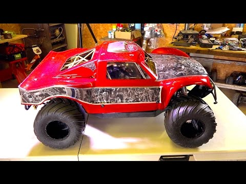 We went too far! OBR 46cc 12hp Gas Engine w/ Silenced Pipe in 4x4 Concept Truck | RC ADVENTURES - UCxcjVHL-2o3D6Q9esu05a1Q