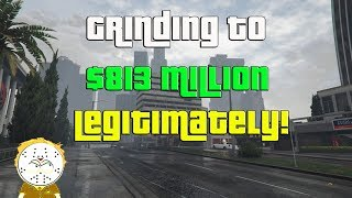 GTA Online Grinding To $813 Million Legitimately And Helping Subs