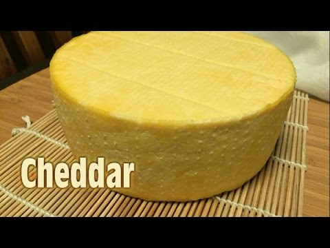 How to make Cheddar Cheese (Cloth Banded) - UCE31MqUy6nIMJ_f8y4R3_AA