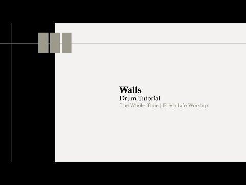 Walls Drum Tutorial // Fresh Life Worship