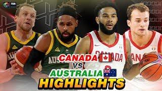 CANADA VS AUSTRALIA