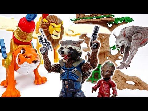 Rocket Raccoon, Help Our Zoo Animals~! #ToyMartTV - UC7he88s5y9vM3VlRriggs7A