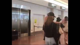 190711 IZONE Safely arrived @ Haneda Airport Japan 아이즈원
