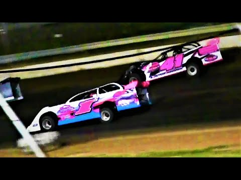 8-21-21 Late Model Feature Thunderbird Raceway - dirt track racing video image