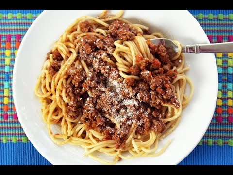 Simple Meat Sauce - Ready in 30 Minutes