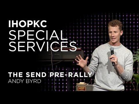 The Send Pre-Rally  Andy Byrd