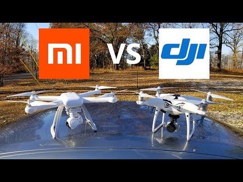 XIAOMI MI Drone vs DJI Phantom 4 Pro - KEN HERON - UCCN3j77kPMeQu41gfMNd13A