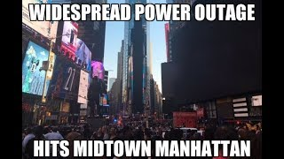 MAJOR POWER OUTAGE IN NEW YORK-RETROGRADE IS REAL
