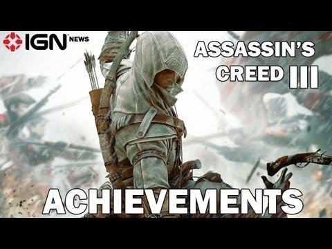 IGN News - Assassin's Creed III Achievements Leak - UCKy1dAqELo0zrOtPkf0eTMw