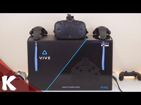HTC VIVE | Unboxing | Quick Setup | Close Look - UC-DhcadsG-X9iUXta0rCDNA