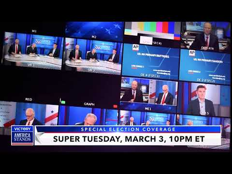 Super Tuesday Is March 3! Watch America Stands LIVE Election Coverage