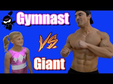 Gymnast vs Giant! Who is Stronger, Payton or the bodybuilder? - UCpZ88DWlKW0H_AYDaUZptcw