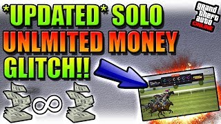 *UPDATED* EASY SOLO UNLIMITED MONEY GLITCH ON GTA 5 ONLINE!!(PS4 ONLY)