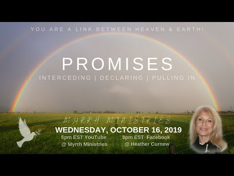 Promises: Interceding, Declaring, and Pulling In!