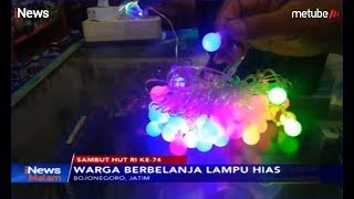 Jelang HUT RI ke-74, Penjual Lampu Hias & Pernak-pernik Raih Omzet Tinggi - iNews Malam 04/08