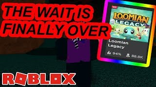 LOOMIAN LEGACY IS FINALLY HERE ON ROBLOX!!!! LETS GO
