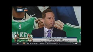 First Things First - Chris Broussard agree with Danny Ainge on Celtics free agency haul