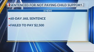 Elmira man sentenced for not paying child support