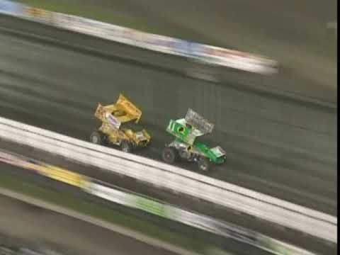 46th annual Knoxville Nationals preliminary night A Main where the PA Posse show their muscle and Fred Rahmer gets the popular win! - dirt track racing video image