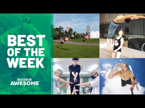 Handstands, Soccer & Hula Hoop Tricks | Best of the Week - UCIJ0lLcABPdYGp7pRMGccAQ