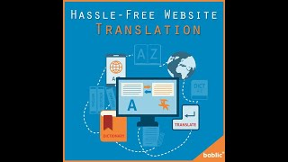 Manage your multilingual website in 3 steps