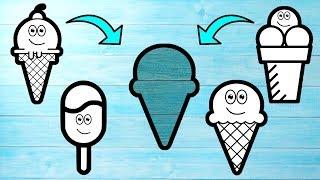 Wrong Slots Ice Cream Wrong Puzzles Wooden Blocks