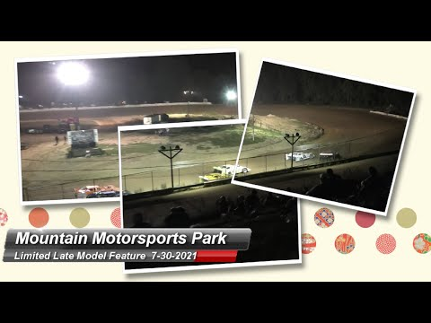 Mountain Motorsports Park - Limited Late Model Feature - 7/30/2021 - dirt track racing video image