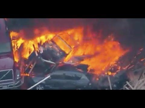Breaking Denver 28 Car Crash Many Dead