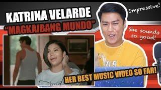 Katrina Velarde - Magkaibang Mundo | SINGER REACTS
