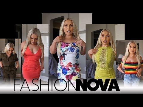Summer FashionNova Haul - UCxM38gaSIUKILN7TBHnc7bw