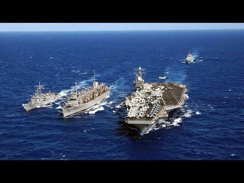 Mẫu hạm Mỹ USS Vinson tới Tây Thái Bình Dương
