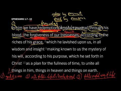 Ephesians 1:710 // Part 1 // What Does Redemption Mean?