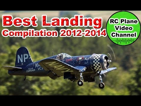 RC Plane Only Best Landings Compilation 2012-2014 -  RC Plane Video Channel - UCH1M8C1BKN63TH8V_ResEqw