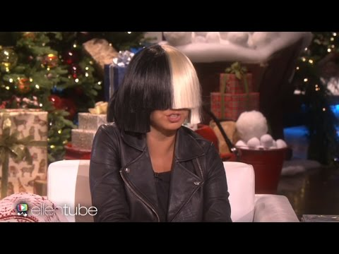 Sia chandelier live on snl f sport sia takes off her wig for ellen performs alive aloadofball Choice Image