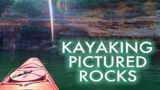 KAYAKING PICTURED ROCKS || LAKE SUPERIOR, MICHIGAN