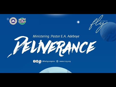 RCCG HOLY GHOST CONGRESS 2020 - DAY 3 EVENING  DELIVERANCE