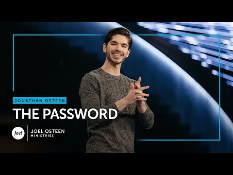 Jonathan Osteen - The Password