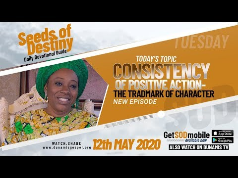 Dr Becky Paul-Enenche - SEEDS OF DESTINY  TUESDAY, 12 MAY, 2020