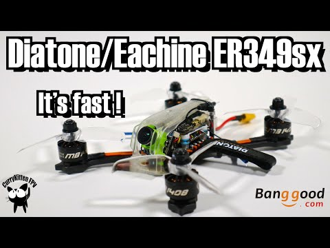 """The Diatone ER349sx - my new fave 3"""" quad.  Supplied by Banggood - UCcrr5rcI6WVv7uxAkGej9_g"""