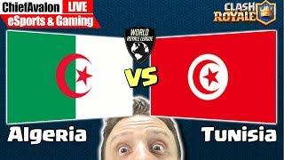 LIVE Sat, Aug 17: Clash Royale - WRL: 𝗔𝗹𝗴𝗲𝗿𝗶𝗮 vs 𝗧𝘂𝗻𝗲𝘀𝗶𝗮