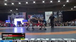 12U 92 Adriano Perez Washington Vs Jaxson Godley Oregon