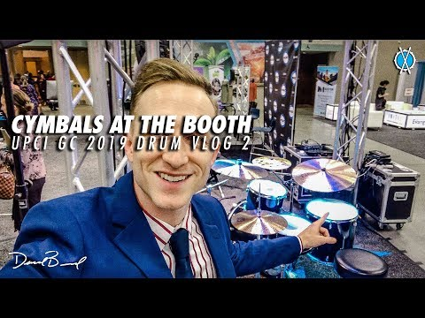 Cymbals at the Music Booth // UPCI GC 2019 Drum Vlog 2
