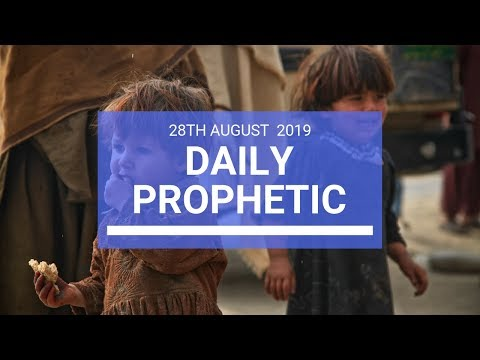 Daily prophetic 28 August 2019  Word 2