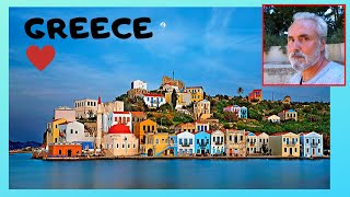ISLAND of KASTELLORIZO: MAGNIFICENT and COLOURFUL MANSIONS (GREECE)