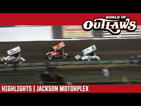 World of Outlaws Craftsman Sprint Car Series Feature Event Highlights from the Jackson Motorplex in Jackson, Minnesota on June 8th, 2018!  For more information and full results: www.woosprint.com For extended race highlights: www.DIRTVision.com - dirt track racing video image