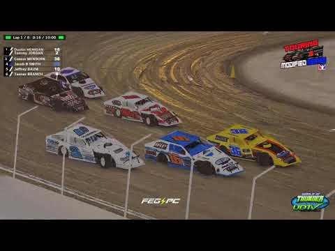 Touring Modified Series Round 8 at Limaland - dirt track racing video image