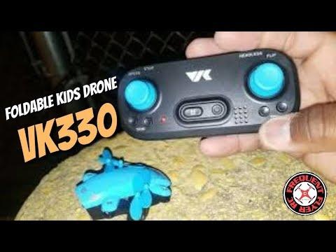 VK330 Foldable Kids Drone Outdoor Flight Test - UCNUx9bQyEI0k6CQpo4TaNAw