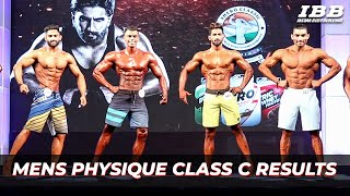 Men's Physique Category C Results IHFF Sheru Classic Pro Qualifier Series 2019