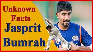 Unknown Facts About Jasprit Bumrah..! All You Need To Know...