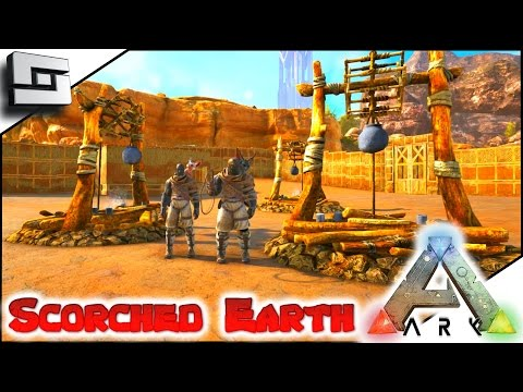 MODDED ARK: Scorched Earth   IT BEGINS! E1 ( Ark Survival Evolved Gameplay )
